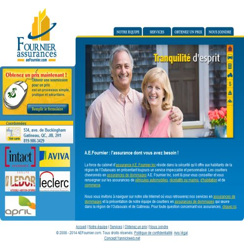 site web A.e. Fournier