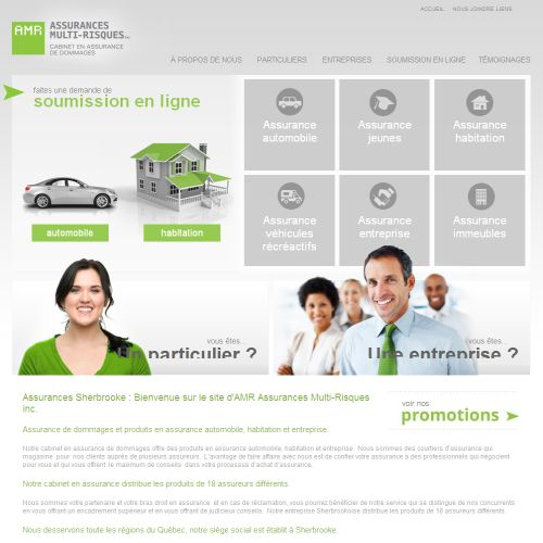 site web Amr Assurance Multi-Risques Inc.