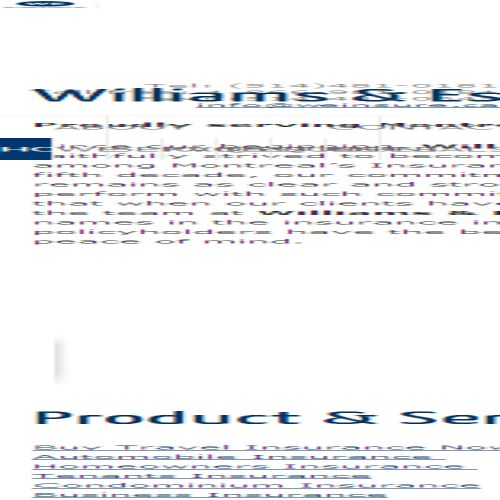 site web William & Esber Inc.