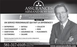 Assurance et Services Financiers d'Armand Bois